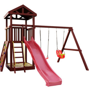 "Детская площадка IgraGrad ""Панда Фани Gride"" с большим скалодромом"
