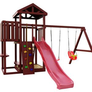 """Детская площадка IgraGrad """"Панда Фани с балконом"""""""