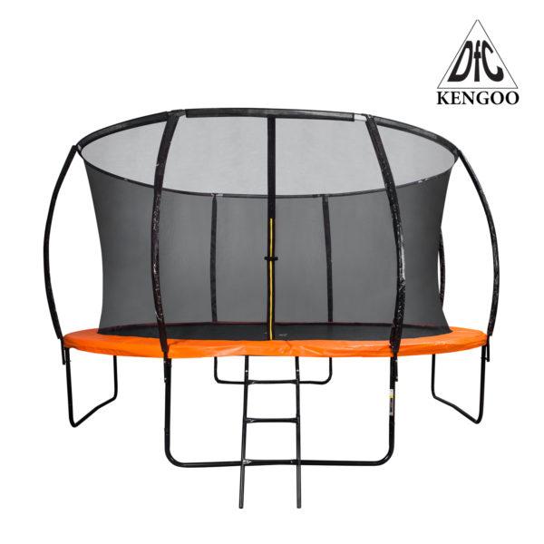 Батут DFC Trampoline Fitness KENGOO 12FT с сеткой