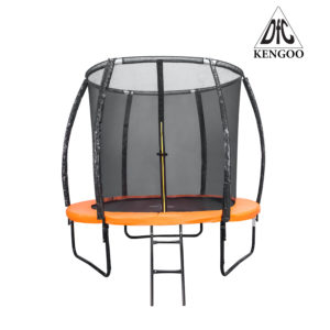 Батут DFC Trampoline Fitness KENGOO 8FT с сеткой