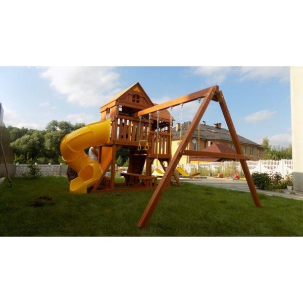 Детский игровой комплекс Р955 Панорама с трубой и горкой_2