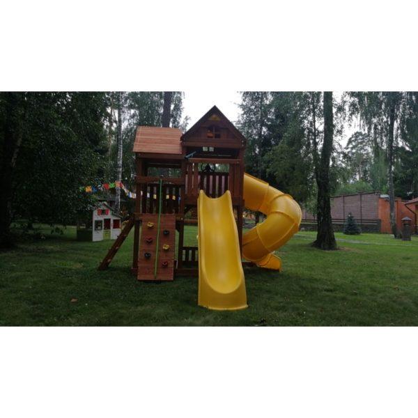 Детский игровой комплекс Р955 Панорама с трубой и горкой_5