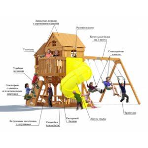 Детский игровой комплекс Р955 Панорама с трубой_2