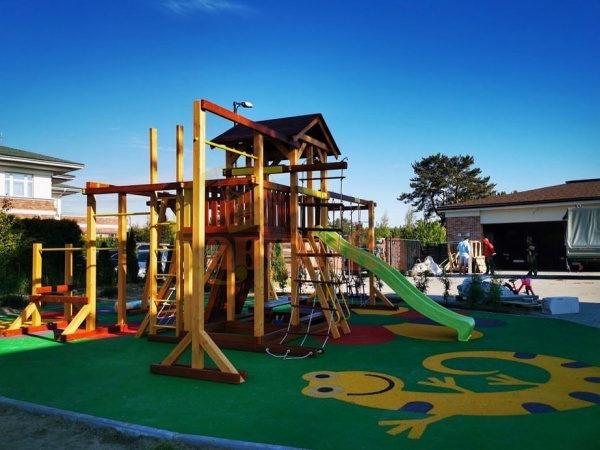 Детская площадка Савушка Семейная фото