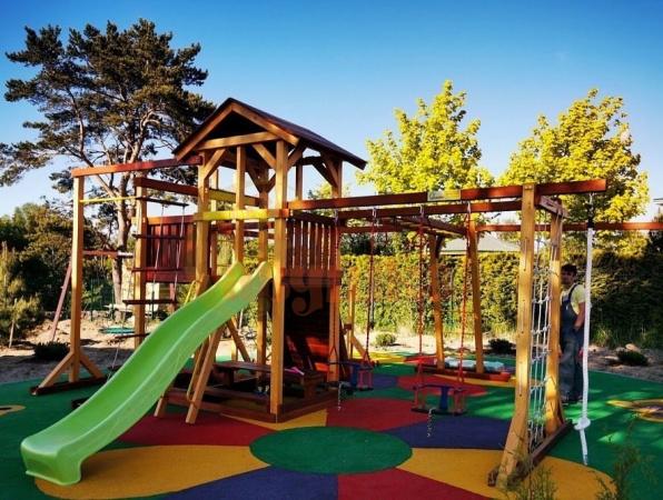 Детская площадка Савушка Семейная фото1