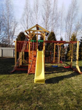 Детская площадка Савушка Семейная фото2