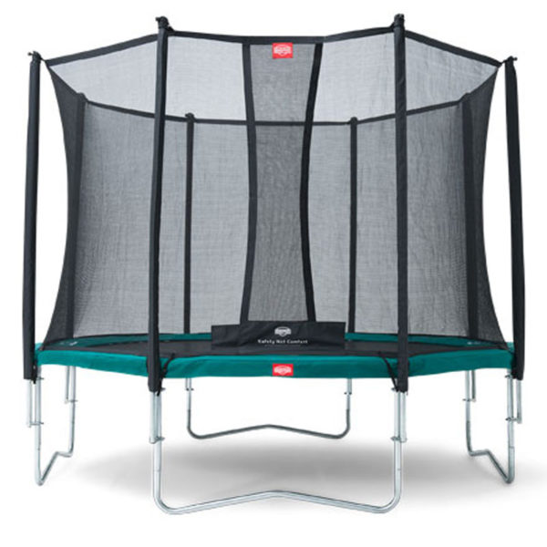 Батут BERG Favorit 270 Green (35.09.07.06) +Safety Net Comfort 270 (35.74.09.02)