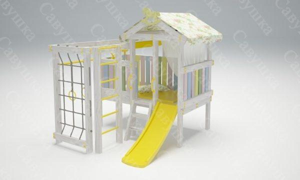 Детский игровой комплекс-кровать САВУШКА BABY CLUB — 1