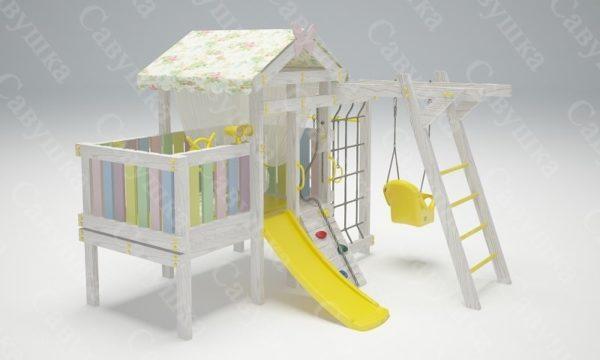 Детский игровой комплекс-кровать САВУШКА BABY CLUB — 2