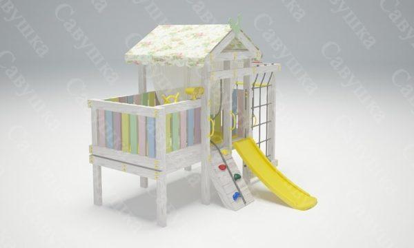 Детский игровой комплекс-кровать САВУШКА BABY CLUB — 3