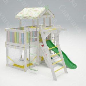 Детский игровой комплекс-кровать САВУШКА BABY CLUB — 4