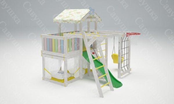 Детский игровой комплекс-кровать САВУШКА BABY CLUB — 5