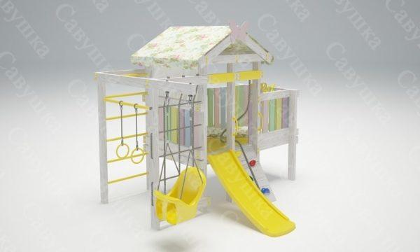 Детский игровой комплекс-кровать САВУШКА BABY CLUB — 6
