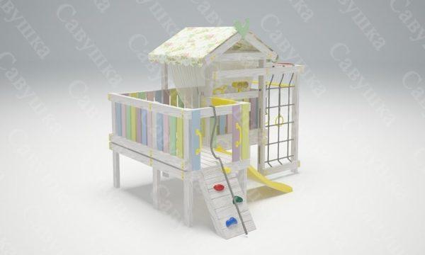 Детский игровой комплекс-кровать САВУШКА BABY CLUB — 7