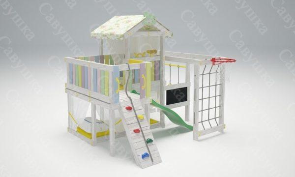 Детский игровой комплекс-кровать САВУШКА BABY CLUB — 8