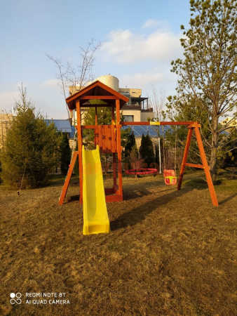 Детская площадка Савушка Classiс фото1