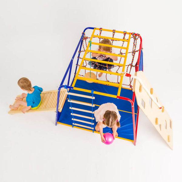 Комплект SportsWill Baby Hit classic плюс роликовая доска плюс скалодром и канат