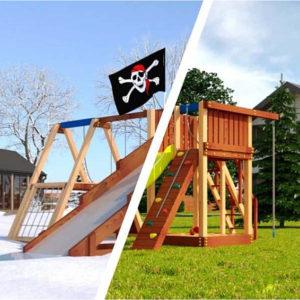 Детская игровая площадка Савушка 4 сезона — 1