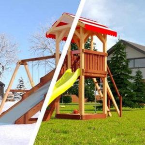 Детская площадка Савушка 4 сезона — 2