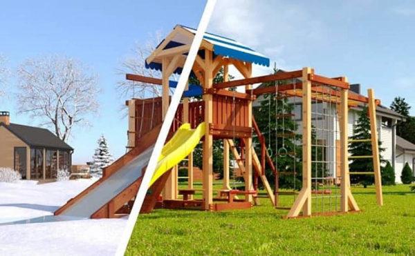 Детская площадка Савушка 4 сезона — 7