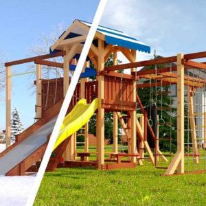 Детская площадка Савушка Семейная 4 сезона — 10