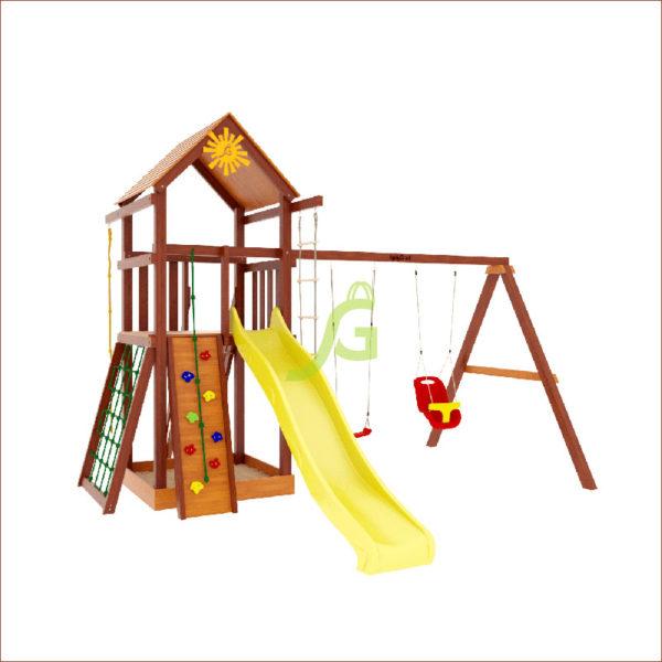 Детская площадка IgraGrad Панда Фани Gride Color1