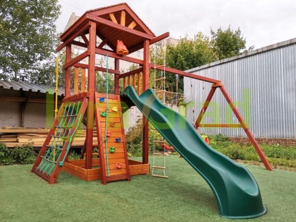 Детская площадка IgraGrad Панда Фани Gride Color__