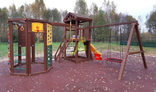 Детская площадка IgraGrad Панда Фани Gride с WorkOut_
