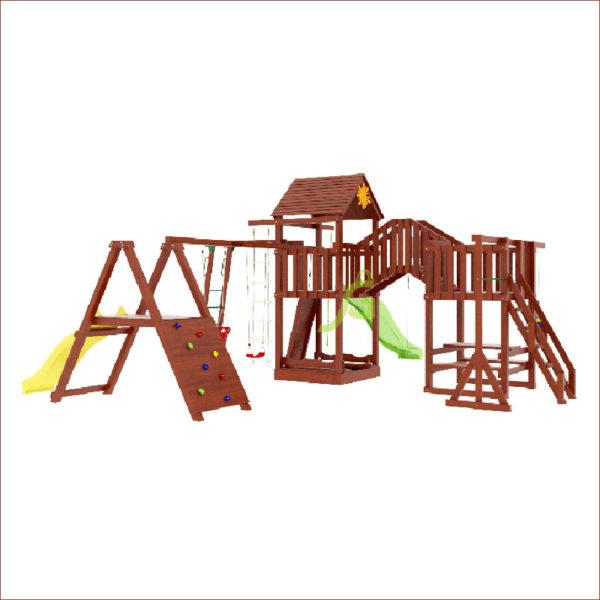 Детская площадка IgraGrad Панда Фани Мостик 2_1