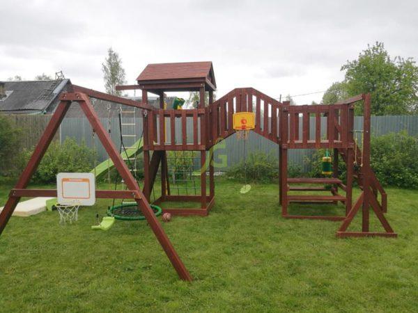 Детская площадка IgraGrad Панда Фани Мостик