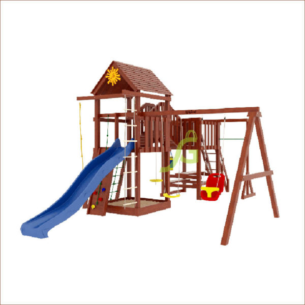 Детская площадка IgraGrad Панда Фани Мостик1