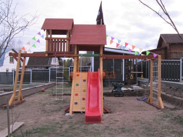 Детская площадка Савушка Люкс 10 фото2