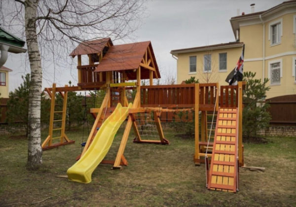 Детская площадка Савушка Люкс 12 фото