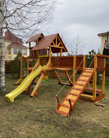 Детская площадка Савушка Люкс 12 фото1