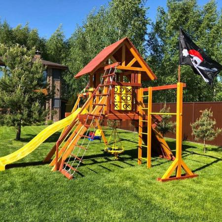 Детская площадка Савушка Люкс 3 фото