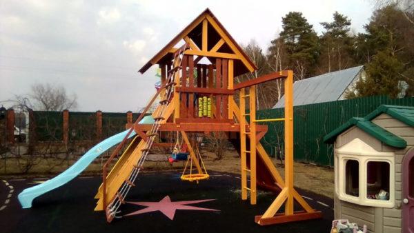 Детская площадка Савушка Люкс 6 фото1