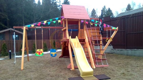 Детская площадка Савушка Люкс 6 фото3