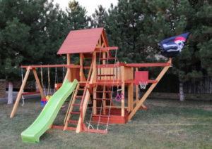 Детская площадка Савушка Люкс 6 фото4