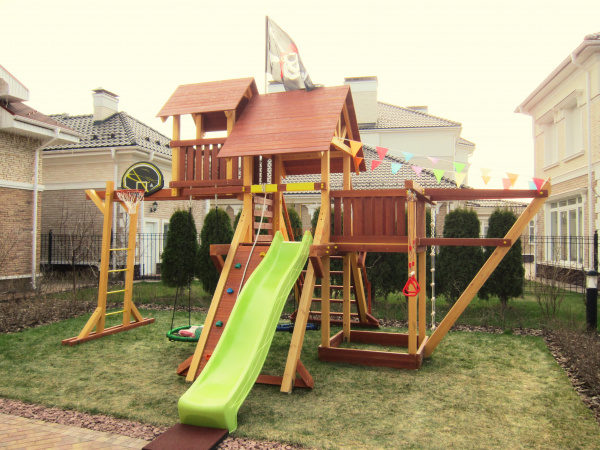 Детская площадка Савушка Люкс 7 фото1