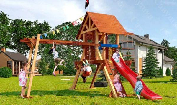 Детская площадка Савушка Lux - 1