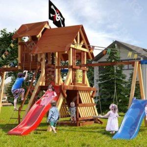Детская площадка Савушка Lux - 11
