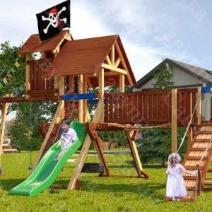 Детская площадка Савушка Lux - 12