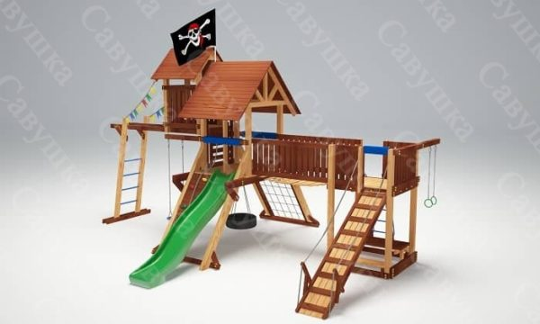 Детская площадка Савушка Lux - 12_3