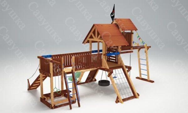 Детская площадка Савушка Lux - 12_4