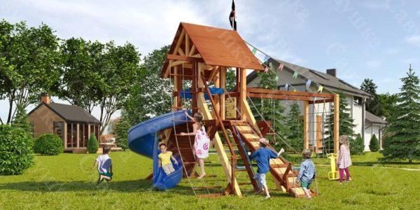 Детская площадка Савушка Lux - 13