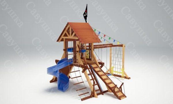 Детская площадка Савушка Lux - 13_1