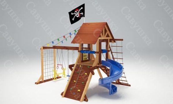 Детская площадка Савушка Lux - 13_4