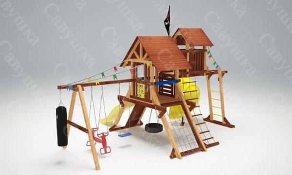 Детская площадка Савушка Lux - 14_3