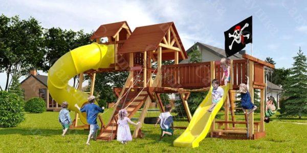 Детская площадка Савушка Lux - 15