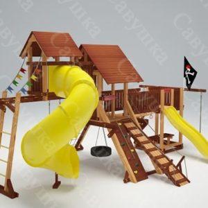 Детская площадка Савушка Lux - 15_1